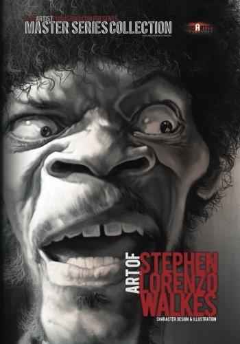 Art of Stephen Lorenzo Walkes: Character Design & Illustration: MadArtistPublishing.com ...