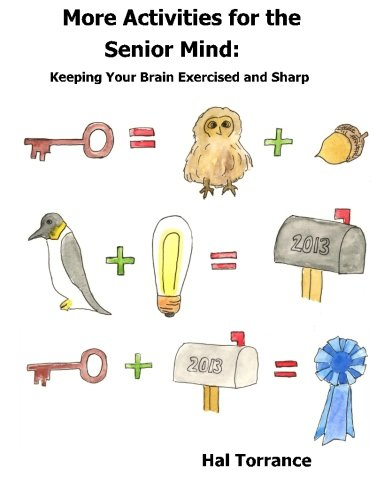 9781481869836: More Activities for the Senior Mind: Keeping Your Brain Exercised and Sharp
