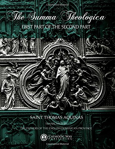 9781481885553: The Summa Theologica: First Part of the Second Part ([Volumes 1 to 6]) (Volume 2)