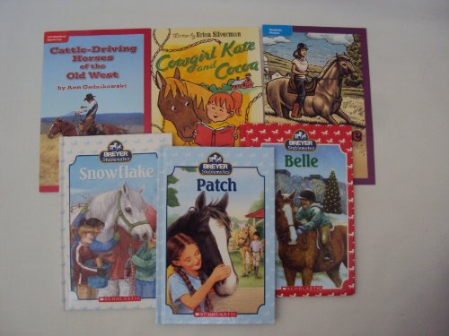 9781481889865: Breyer Stablemates Book Set - Level 3 Reader : Pony Horse Books for Girls : Stablemates : Patch - Belle - Snowflake - Cowgirl Kate and Cocoa - Rachel's Choice - Cattle Driving Horses of the Old West (Book Sets for Kids : Level 3 & 4 Reading)