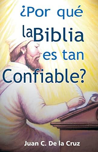 9781481893800: ¿Por qué la Biblia es tan Confiable? (Spanish Edition)