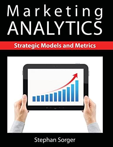 9781481900300: Marketing Analytics: Strategic Models and Metrics