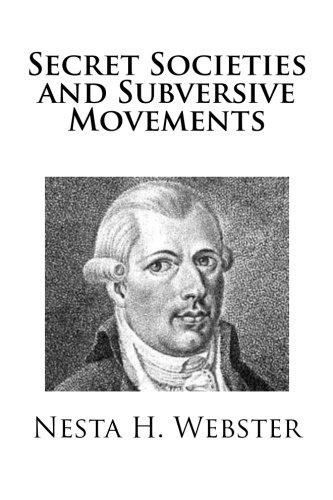 9781481902892: Secret Societies and Subversive Movements