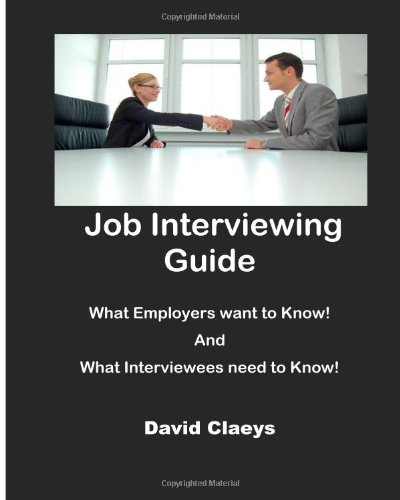 9781481906654: Job Interviewing Guide