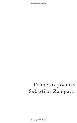 9781481908306: Primeros poemas (Spanish Edition)
