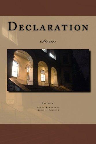 9781481922142: Declaration: Stories