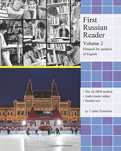9781481927536: 2: First Russian Reader: Elementary Level, Bilingual for Speakers of English