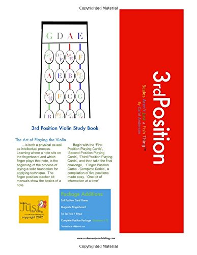 9781481930345: 3rd Position Violin Study: Violin Positions Made Easy (Sight-reading for Young Violinists)