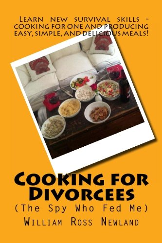 9781481952101: 'Cooking for Divorcees (The Spy Who Fed Me)'