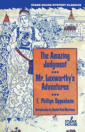 9781481954815: The Amazing Judgment / Mr. Laxworthy's Adventures