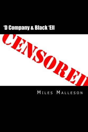 'D Company & Black 'Ell (9781481963602) by Miles Malleson