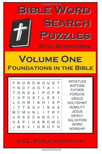 9781481968232: Bible Word Search Puzzles, Volume One: Foundations in the Bible: 1
