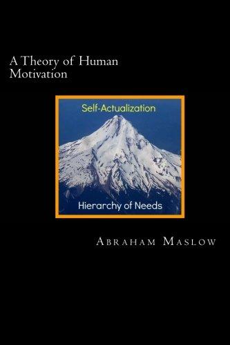 9781482011234: A Theory of Human Motivation (Psychology Classics)