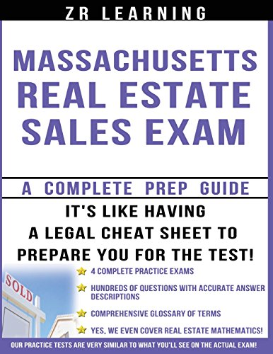 Massachusetts Real Estate Sales Exam - 2013/2014: Zenga, Mr. Michael