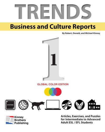 9781482018066: Trends: Business and Culture Reports, Book 1: Global Color Edition
