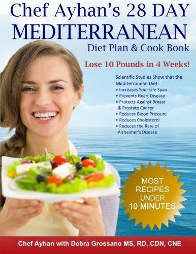 9781482020885 Chef Ayhans 28 Day Mediterranean Diet Plan Cook Book