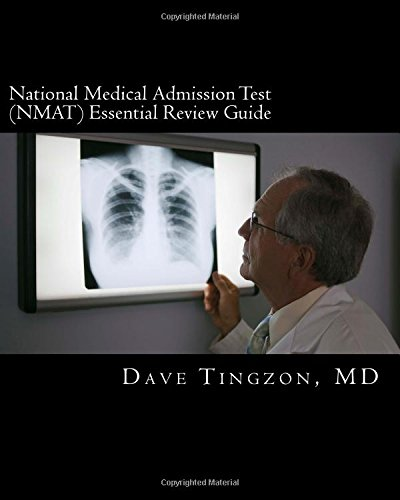9781482034158: National Medical Admission Test (NMAT) EsSential ReVieW Guide
