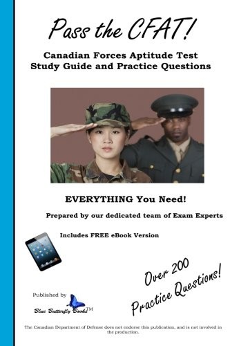 9781482075618: Pass the CFAT: Canadian Forces Aptitude Test Study Guide and Practice Questions