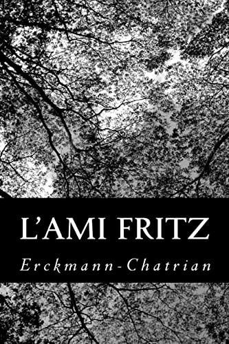9781482088304: L'ami Fritz
