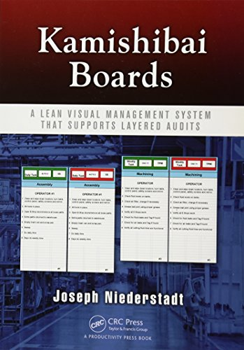 9781482205299: Kamishibai Boards: A Lean Visual Management System That Supports Layered Audits