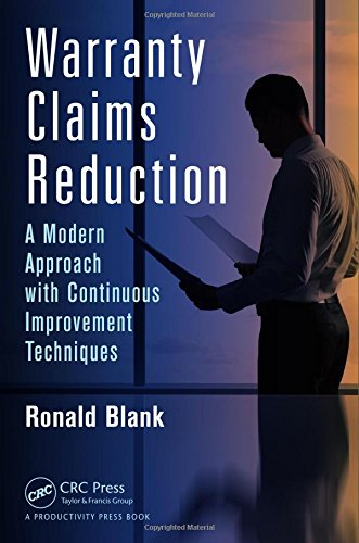 9781482209129: Warranty Claims Reduction: A Modern Approach with Continuous Improvement Techniques