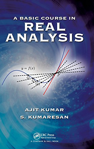 A Basic Course In Real Analysis: Ajit Kumar &