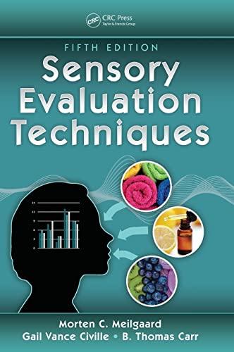Sensory Evaluation Techniques: Meilgaard, Morten C./