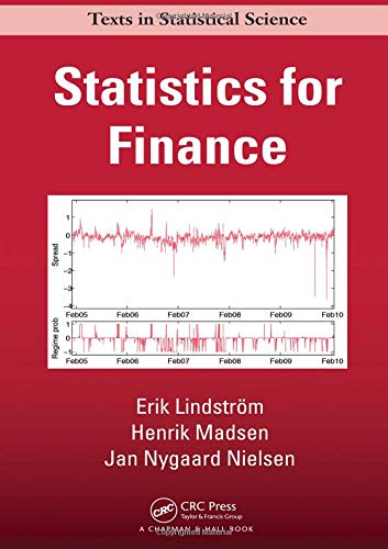 9781482228991: Statistics for Finance (Chapman & Hall/CRC Texts in Statistical Science)