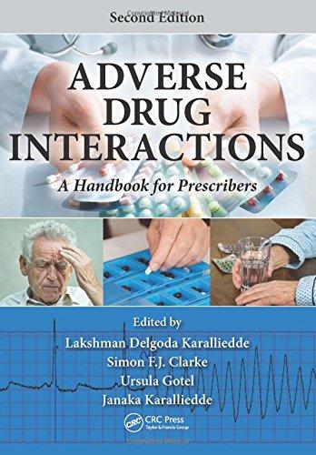9781482236217: Adverse Drug Interactions: A Handbook for Prescribers, Second Edition