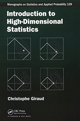 9781482237948: Introduction to High-Dimensional Statistics (Chapman & Hall/CRC Monographs on Statistics and Applied Probability)