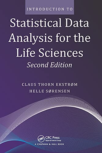 INTRODUCTION TO STATISTICAL DATA ANALYSIS FOR THE: EKSTROM, CLAUS THORN