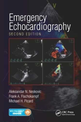 9781482243857: Emergency Echocardiography, Second Edition