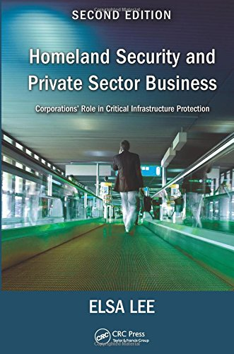 9781482248586: Homeland Security and Private Sector Business: Corporations' Role in Critical Infrastructure Protection, Second Edition