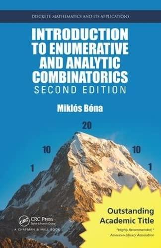 Introduction To Enumerative Combinatorics: Bona, Miklos