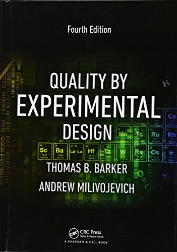 9781482249668: Quality by Experimental Design