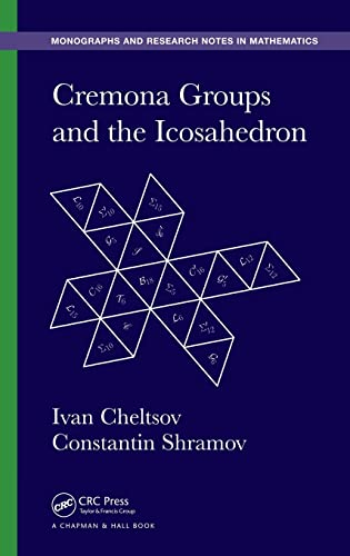 9781482251593: Cremona Groups and the Icosahedron (Chapman & Hall/CRC Monographs and Research Notes in Mathematics)