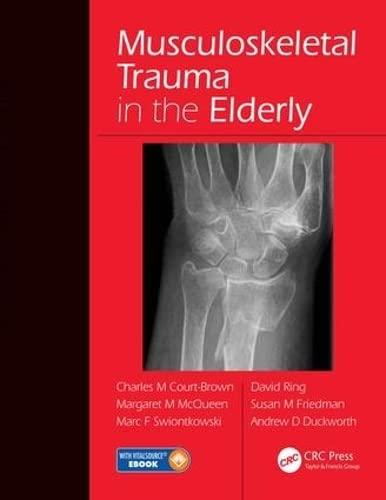 9781482252026: Musculoskeletal Trauma in the Elderly