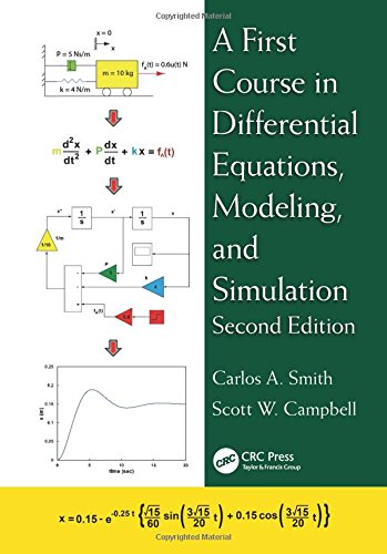 9781482257229: A First Course in Differential Equations, Modeling, and Simulation, Second Edition