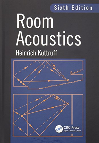 Room Acoustics, Sixth Edition (Hardcover): Heinrich Kuttruff