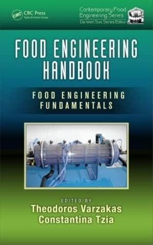 9781482261691: Food Engineering Handbook: Food Engineering Fundamentals (Contemporary Food Engineering) (Volume 1)