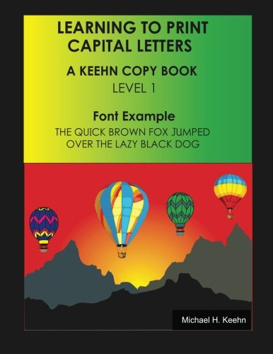 9781482336351: Learning to Print: Capital Letters