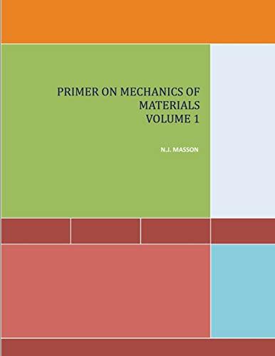 9781482374896: 1: Primer on Mechanics of Materials Volume I (Volume 1)