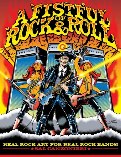 9781482385755: A Fistful of Rock & Roll: Real Rock Art for Real Rock Bands (A Fistful of Rock & Roll Art Books) (Volume 2)