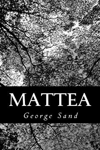 Mattea (Paperback): Title George Sand