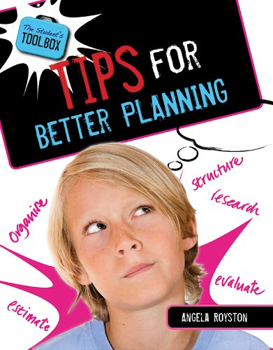 9781482401721: Tips for Better Planning (The Student's Toolbox)