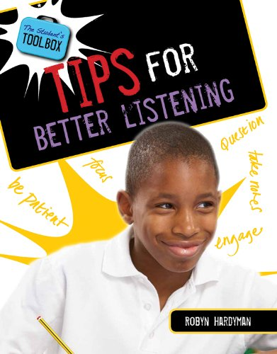 9781482401752: Tips for Better Listening (Student's Toolbox)