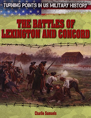 9781482404180: The Battles of Lexington and Concord (Turning Points in Us Military History)