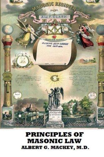 9781482504682: The Principles of Masonic Law