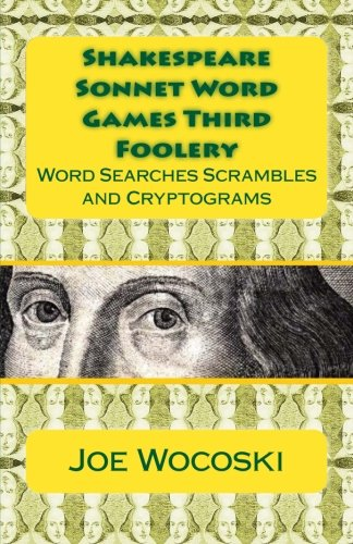 9781482507843: Shakespeare Sonnet Word Games Third Foolery