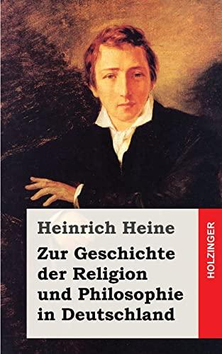 9781482558296: Zur Geschichte der Religion und Philosophie in Deutschland